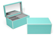 Tourquoise Elle Lacquer Jewelry Box
