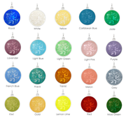 Enameled St. Christopher Medals (4 Sizes) Starting at