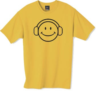 smilie dj t shirt