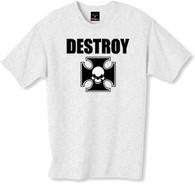 Destroy tshirt