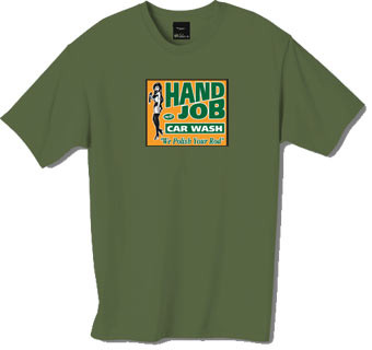 Hand Job tshirt