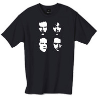 Faces of Metallica tshirt