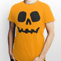 Funny pumpkin tshirt for an easy Halloween costume for 2012