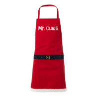 Mr Claus novelty christmas apron, funny christmas present, novelty gift, secret santa