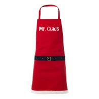 Mr Claus novelty christmas apron, funny christmas present, novelty gift, secret santa