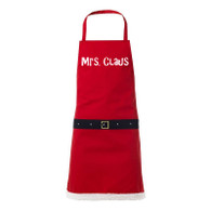 Mrs Claus novelty apron