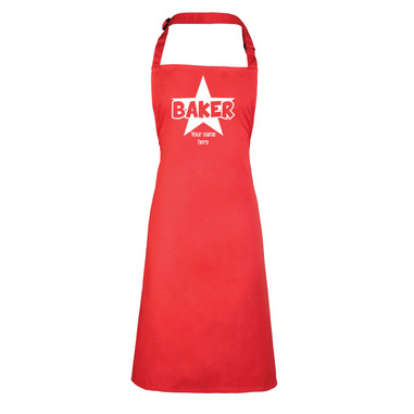 star baker apron gift idea for christmas gift or birthday present