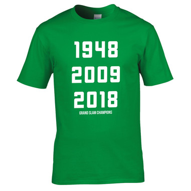 Ireland 6 nations grand slam champions 2018 2009 1948