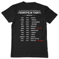 Adolf Hitler European tour tshirt back print