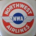 Northwest Airlines Vintage Logo Sticker