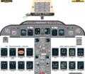 Bombardier CRJ 100/200 EFIS/EICAS Poster