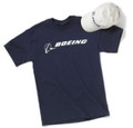 Boeing Signature Hat & Tee Set