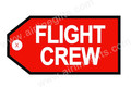 Embroidered Flight Crew Tags
