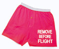 Remove Before Flight Men's Boxers
