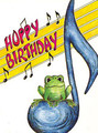 Greeting Cards: Frog and 8th Notes (Pack of 12) [Alf:44-4429PK]