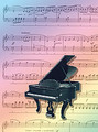 Greeting Cards: Rainbow Piano (Pack of 12) [Alf:44-4452]