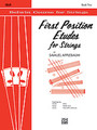 Applebaum, First Position Etudes for Strings [Alf:00-EL02026]