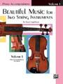 Applebaum, Beautiful Music for Two String Instruments, Book I [Alf:00-EL02199]