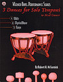 3 Dances for Solo Timpani [Alf:00-0459B]
