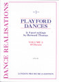 Playford Dances for 4 Recorders, Volume 1 [LP:LPM0102]