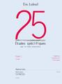 25 Etudes Specifiques [Led:AL30497]