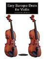 Barlow, Easy Baroque Duets for Violin [Alf:00-0262]