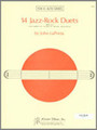 14 Jazz-Rock Duets (alto saxes) [Ken:15830]