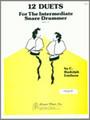 12 Duets For The Intermediate Snare Drummer [Ken:19745]