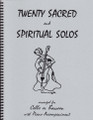 20 Sacred and Spiritual Solos for Cello/Bassoon [LR:40010]