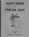 20 Sacred and Spiritual Solos for Viola [LR:40011]