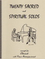 20 Sacred and Spiritual Solos for Clarinet [LR:40012]