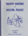 20 Encore and Recital Pieces for Violin and Piano [LR:40025]