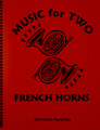 Music for Two French Horns, Christmas [LR:45219]
