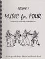 Music for Four, Volume 1 - Score [LR:70199]