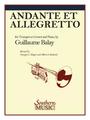 Balay, Andante and Allegretto [HL:3773747]