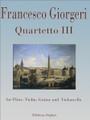 Giorgeri,Quartetto III [CF:494-03024]