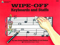 BASTIEN,WIPE-OFF: KEBOARDS AND STAFFS [KJOS:WP269]