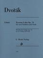 Dvorak, Terzetto in C major op. 74 for Two Violins and Viola [51481235]