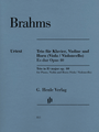 Brahms, Trio in Eb major op. 40 for Piano, Violin and Horn [51480811]