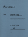 Sarasate, Spanish Dances for Violin and Piano [HL:51481370]