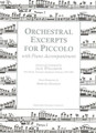 Orchestral Excerpts For Piccolo [CF:414-41180]