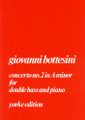Bottesini, Concerto No.2 In A Minor [CF:514-05004]
