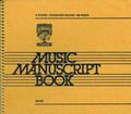 6 Stave Music Manuscript Book [CF:AC105]