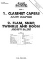 1. Clarinet Capers And 2. Flam, Snap, Twinkle And Boom [CF:BBS69F]