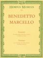Marcello, Six Sonatas, Vol. 1 [Bar:HM151]