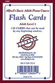 Alfred's Basic Adult Piano Course: Flash Cards, Level 1 [Alf:00-1900]