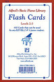 Alfred's Basic Piano Course: Flash Cards, Levels 2 & 3 [Alf:00-2521]