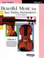 Applebaum, Beautiful Music for Two String Instruments, Book I [Alf:00-EL02202]