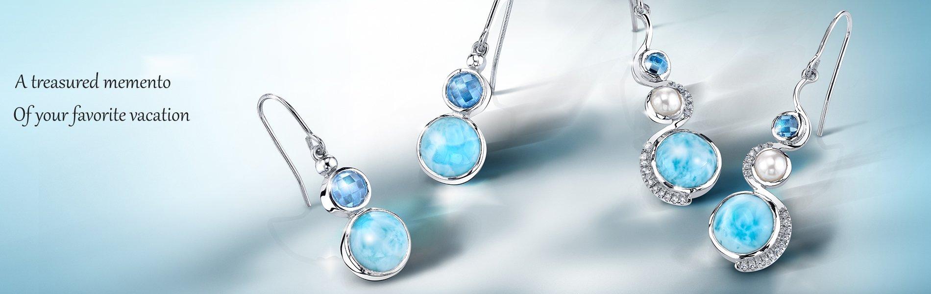 Marahlago Larimar Jewelry Authorized Dealer Larimarket