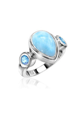 MarahLago Atlantic Collection Larimar Ring